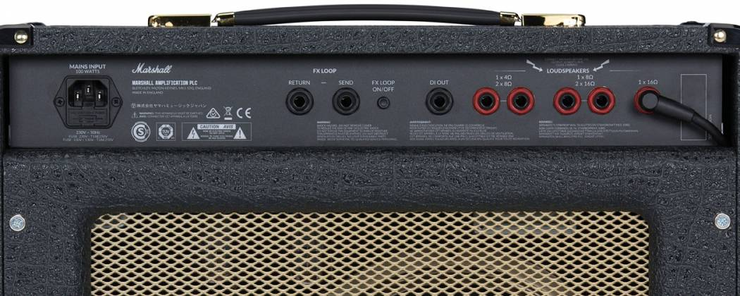 Marshall SC20CNB Limited Navy Blue Levant 20-Watt Guitar Combo Amplifier sc-20-c-nb Product Image 6