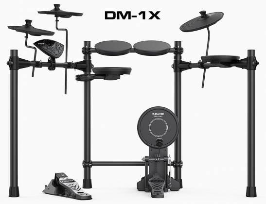 Nux DM-1X Portable Digital Drum Kit dm-1-x Product Image 7