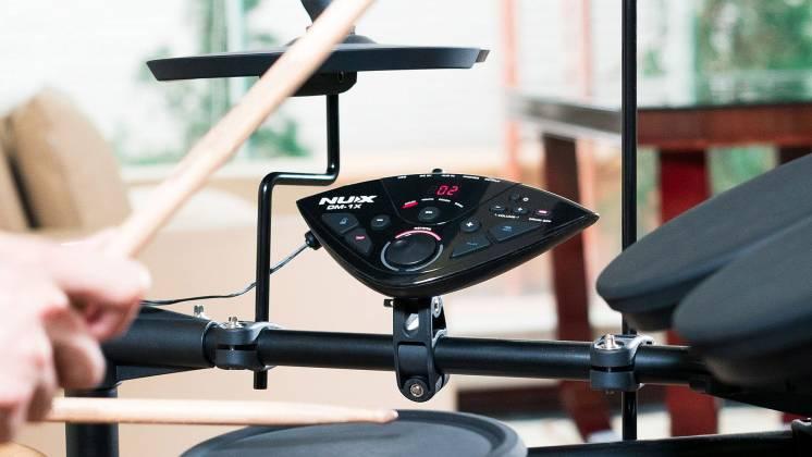 Nux DM-1X Portable Digital Drum Kit dm-1-x Product Image 10