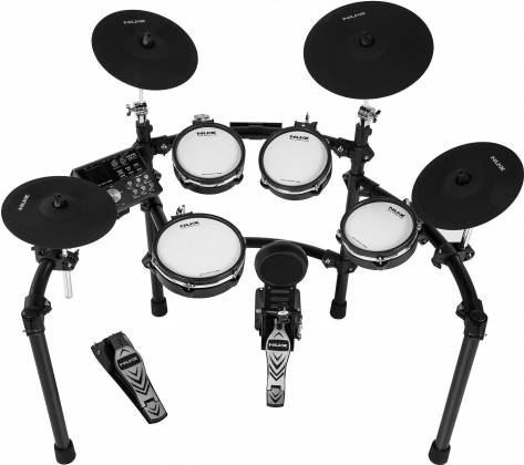 Nux DM-7X Professional Digital Drum Set with All Mesh Heads dm-7-x Product Image 2