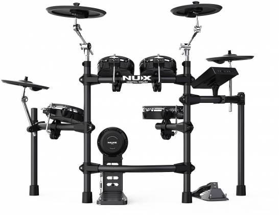 Nux DM-7X Professional Digital Drum Set with All Mesh Heads dm-7-x Product Image