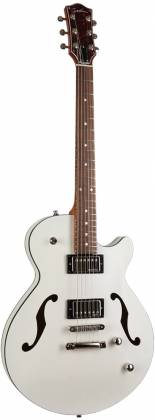 Godin 050222 Montreal Premiere HT Trans White 6 String RH Hollowbody Guitar with Gigbag 050222 Product Image 13