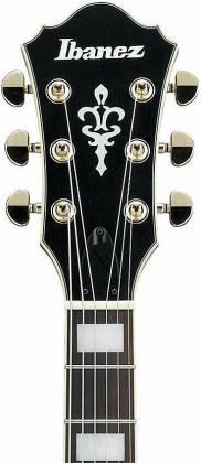 Ibanez AF75GBKF Artcore Series 6-String RH Hollowbody Electric Guitar-Black Flat af-75-g-bkf Product Image 5