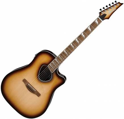 Ibanez ALT30NNB Altstar Series 6-String RH Acoustic Electric Guitar-Natural Browned Burst High Gloss alt-30-nnb Product Image