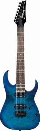 Ibanez RG7421PBSBF RG Standard Series 7-String RH Electric Guitar-Sapphire Blue Flat rg-7421-pb-sbf Product Image 2