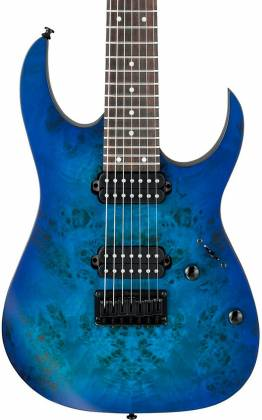 Ibanez RG7421PBSBF RG Standard Series 7-String RH Electric Guitar-Sapphire Blue Flat rg-7421-pb-sbf Product Image 8