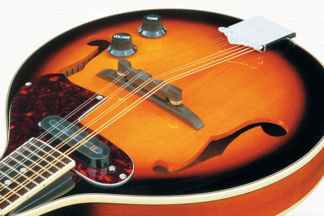 Ibanez M510E-BS-d Electric Acoustic Mandolin in Brown Sunburst High Gloss (discontinued clearance)  (Prior Year Model) Product Image 5