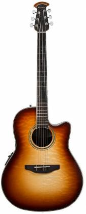 Ovation CS24X-7C Celebrity Standard Plus 6-String RH Acoustic Electric Guitar-Cognac Burst Gloss cs-24-x-7-c Product Image 5
