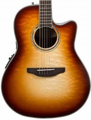 Ovation CS24X-7C Celebrity Standard Plus 6-String RH Acoustic Electric Guitar-Cognac Burst Gloss cs-24-x-7-c Product Image 4