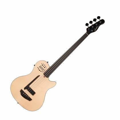 Godin 033645 A4 Ultra Natural SG Fretless EN SA 4 String Bass Product Image 2