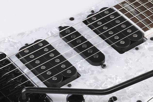 Ibanez RG350DXZ-WH-d RG Model 6 String Electric Guitar in White (discontinued clearance)  (Prior Year Model) Product Image 8