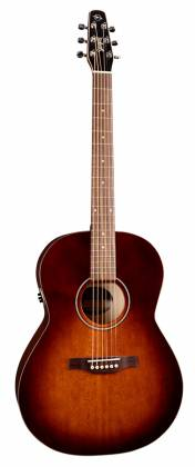 Seagull 041886 Entourage Folk Burnt Umber QIT Acoustic Electric Guitar 6 String Product Image 3
