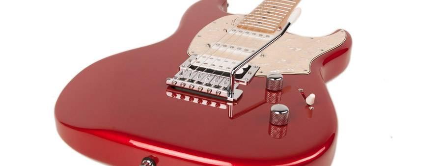 Godin 041190 Session Desert Red HG MN LTD 6 String Electric Guitar Product Image 3
