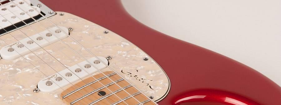 Godin 041190 Session Desert Red HG MN LTD 6 String Electric Guitar Product Image 4