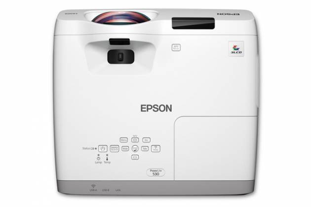 Epson V11H673320 PowerLite 530 XGA 3LCD Projector for Smart Boards Product Image 2