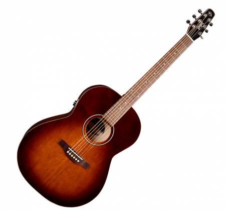Seagull 041886 Entourage Folk Burnt Umber QIT Acoustic Electric Guitar 6 String Product Image 2