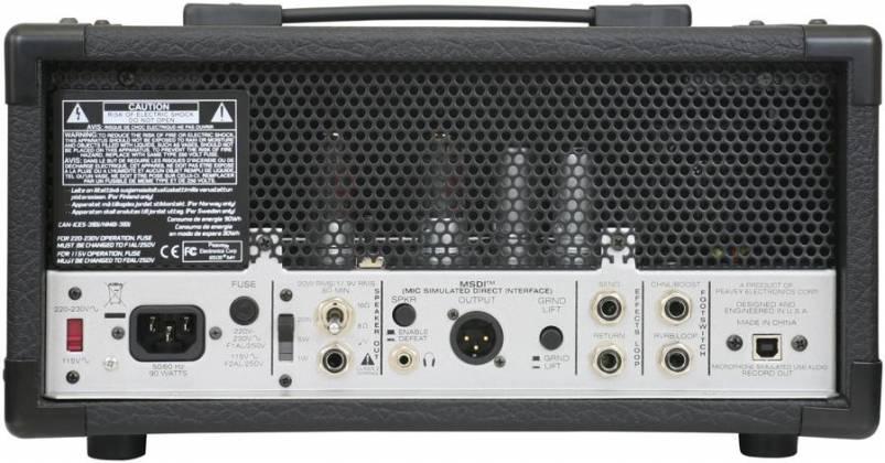 Peavey 03614180 6505 MH Guitar Mini Tube Amplifier Head Product Image 4