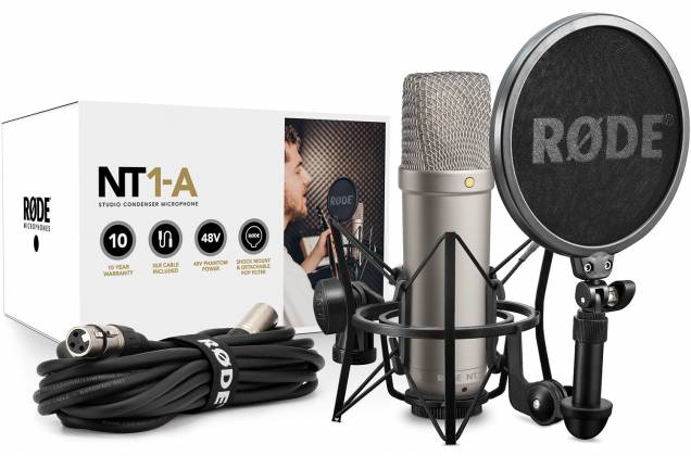 """Rode NT1-A Incredibly Quiet 1"""" Cardioid Condenser Microphone nt-1-a Product Image 4"""
