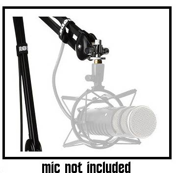 Rode PSA1 Desktop Studio Microphone Boom Arm with 360 Degree Rotation ps-a-1 Product Image 3