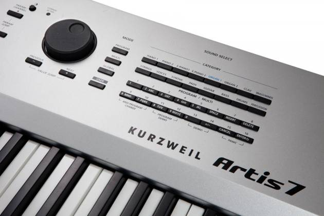 Kurzweil ARTIS 7 76 Key Professional Stage Piano Keyboard Product Image 11