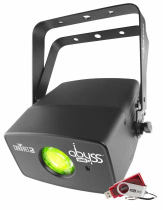 Chauvet DJ Abyss USB Multicolored Water Effect with DMX Control and D-Fi USB Product Image 8