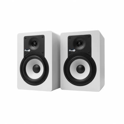"Fluid Audio C5BTW 5"" Bluetooth Studio Monitor (Pair) - White Product Image 2"