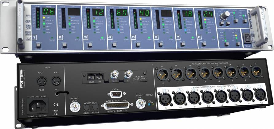 RME DMC842 8-Channel Digital Mic Preamp dmc-842 Product Image 4