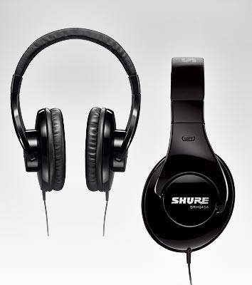 Shure SRH240A Closed-back Headphones Product Image 3