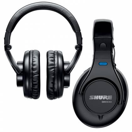 Shure SRH440 Professional Studio Headphones Product Image 4