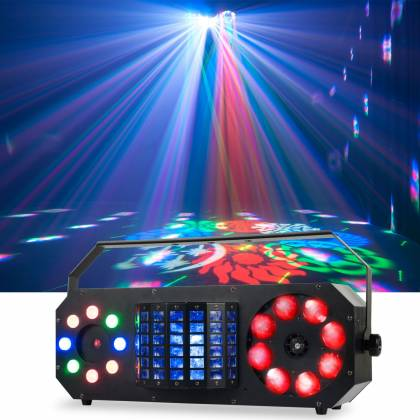 American DJ BOOM-BOX-FX2 StarTec Series 4-in-1 FX LED Light with Laser  Product Image 2