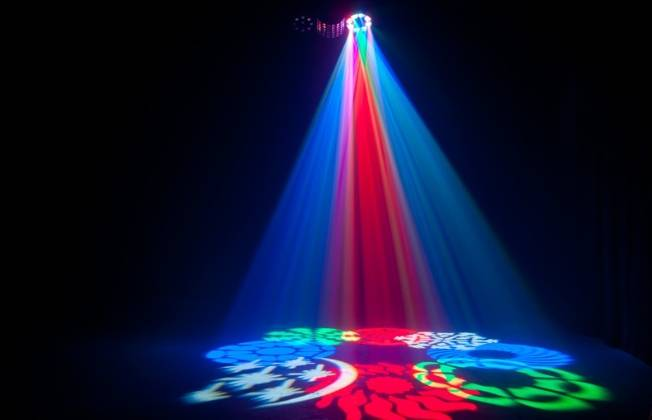 American DJ BOOM-BOX-FX2 StarTec Series 4-in-1 FX LED Light with Laser  Product Image 8