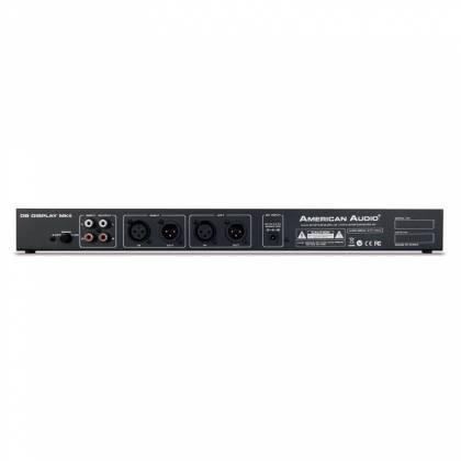 "American DJ DB-DISPLAY-MKII  19"" LED dB Level Display & Amp Rack  Product Image 3"