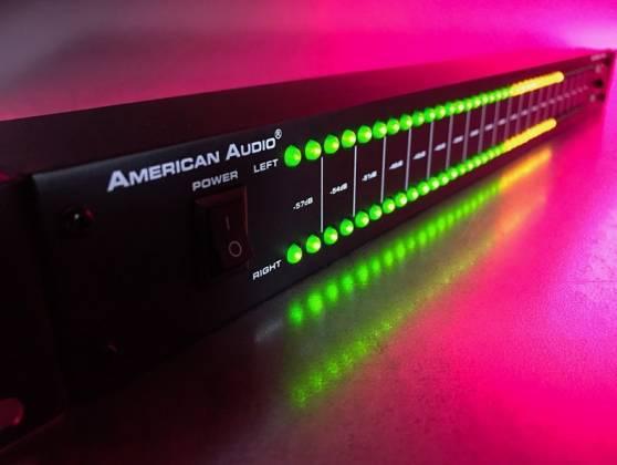 "American DJ DB-DISPLAY-MKII  19"" LED dB Level Display & Amp Rack  Product Image 6"
