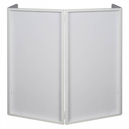 American DJ Event Facade II WH White Frame Portable DJ Facade with Bag & Black/White Scrim Product Image 3