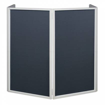 American DJ Event Facade II WH White Frame Portable DJ Facade with Bag & Black/White Scrim Product Image 4