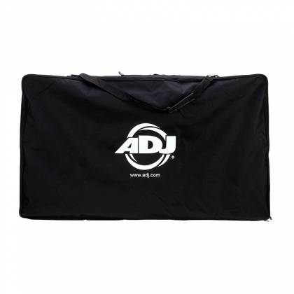American DJ Event Facade II WH White Frame Portable DJ Facade with Bag & Black/White Scrim Product Image 5