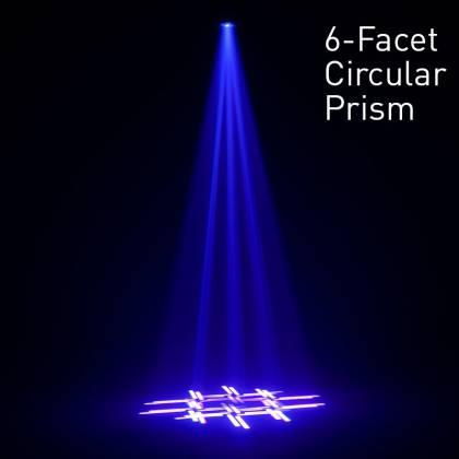 American DJ Focus-Spot-4Z 200W LED Moving Head Spot Lighting Fixture Product Image 7