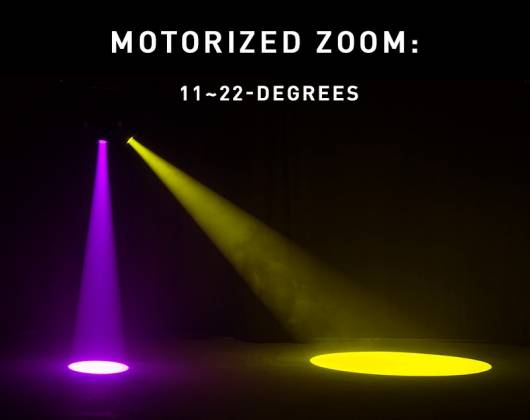 American DJ Focus-Spot-4Z 200W LED Moving Head Spot Lighting Fixture Product Image 9