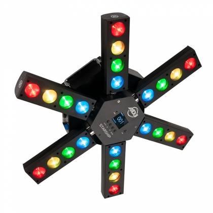 American DJ Starship 6 Arm LED Centerpiece Light Fixture Product Image 2