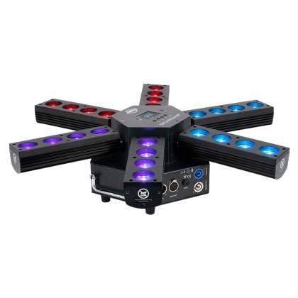 American DJ Starship 6 Arm LED Centerpiece Light Fixture Product Image 3