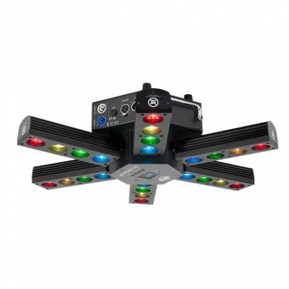 American DJ Starship 6 Arm LED Centerpiece Light Fixture Product Image 4