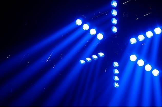 American DJ Starship 6 Arm LED Centerpiece Light Fixture Product Image 10