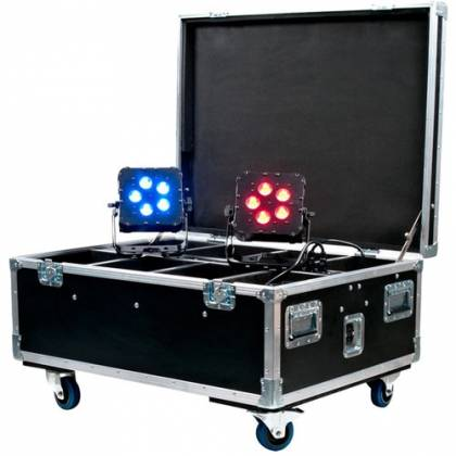 American DJ WI-FLIGHT-CASE with Built-in Charging WiFLY PARs  Product Image 2