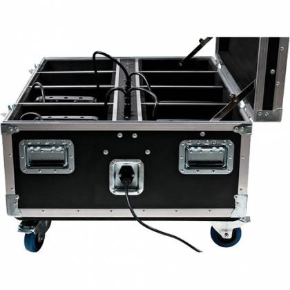 American DJ WI-FLIGHT-CASE with Built-in Charging WiFLY PARs  Product Image 4