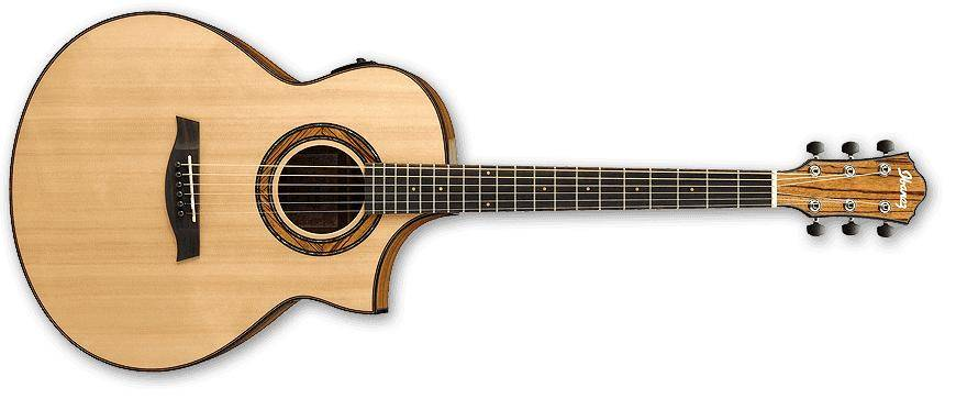 ibanez aew23zw nt aew series 6 string acoustic electric guitar in natural high gloss. Black Bedroom Furniture Sets. Home Design Ideas