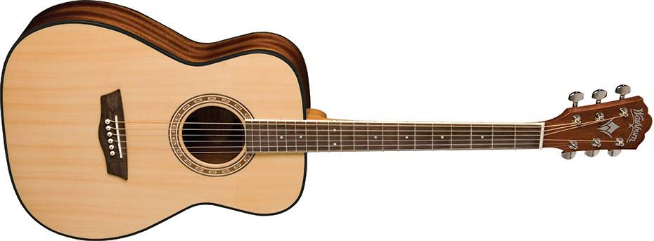 Washburn AF5K Acoustic Guitar with Hardshell Case (Discontinued Clearance) Product Image 2
