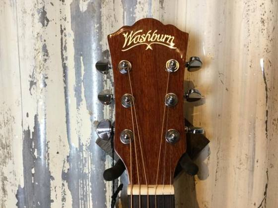 Washburn AF5K Acoustic Guitar with Hardshell Case (Discontinued Clearance) Product Image 3