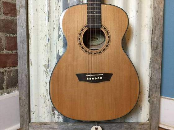 Washburn AF5K Acoustic Guitar with Hardshell Case (Discontinued Clearance) Product Image 4