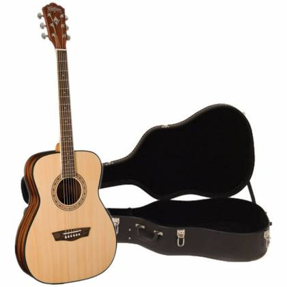 Washburn AF5K Acoustic Guitar with Hardshell Case (Discontinued Clearance) Product Image 5