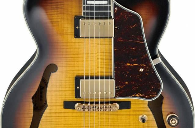 Ibanez AF95FM-AYS Artcore Semi Acoustic 6 String RH Hollowbody - Antique Yellow Sunburst af-95-fm-ays Product Image 3